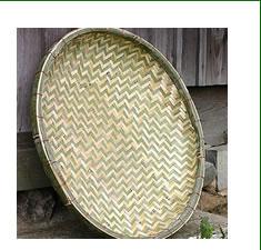 国産竹ざる 60cm