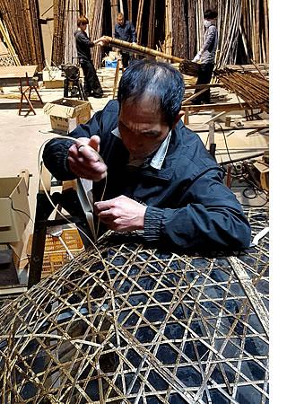 竹tらかー製造風景