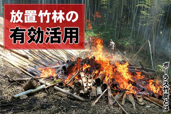 放置竹林の有効活用