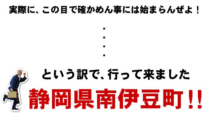 行ってきました静岡県南伊豆町!!