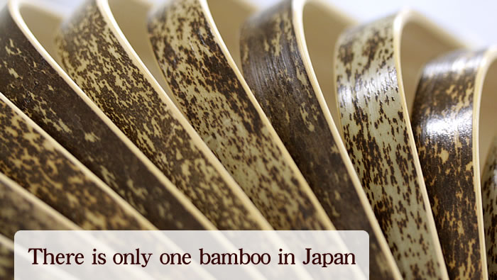 There is only one bamboo in Japan