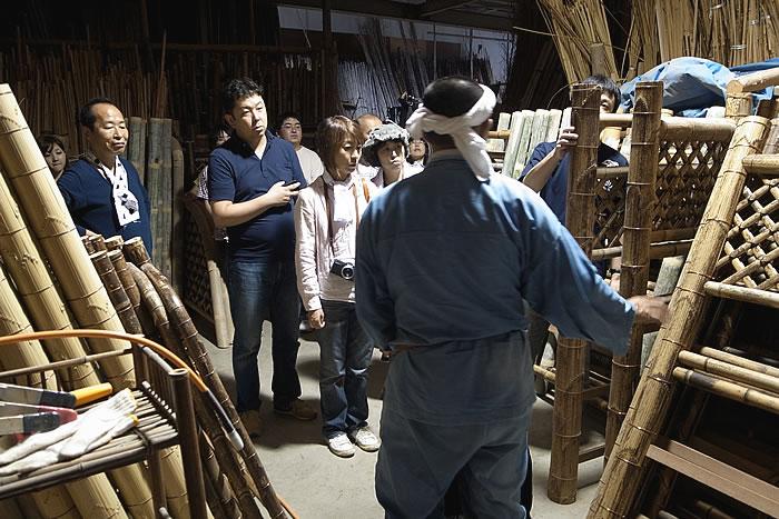 竹の袖垣、竹虎四代目(山岸義浩、YOSHIHIRO YAMAGISHI、TAKETORA)