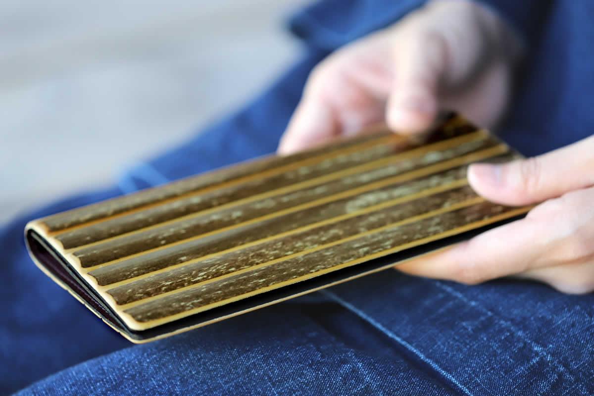 虎竹長財布、竹細工、とらたけ、虎斑竹、たけとら、竹虎、竹製、財布、さいふ、サイフ
