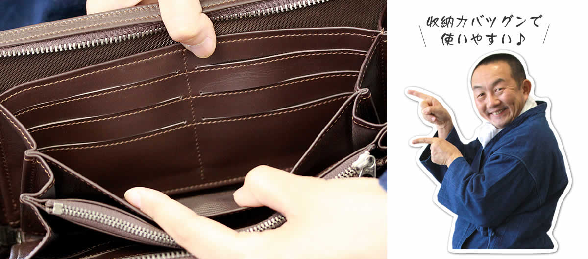 虎竹ジッパー付き長財布,カードホルダー