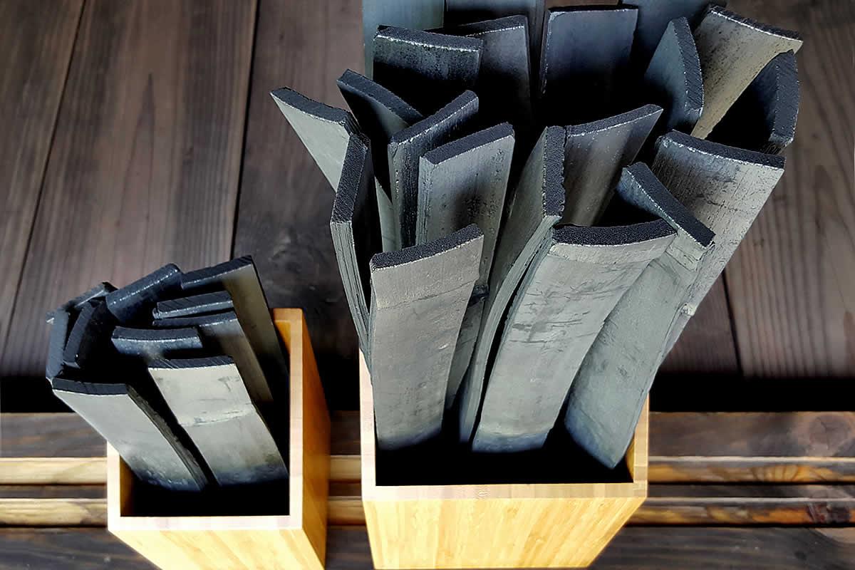 癒しの竹炭セット、竹箱