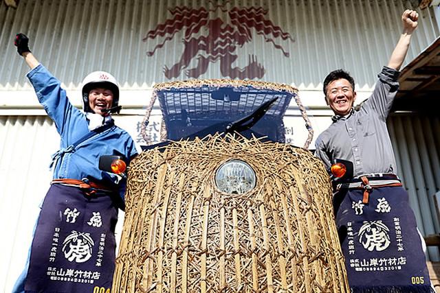 世界竹会議メキシコ出場決定!日本唯一の虎竹電気自動車で世界中の人を乗せて走りたい