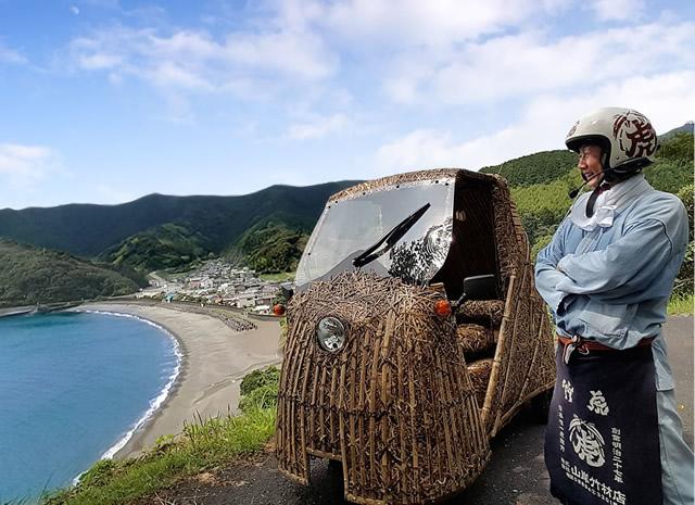 日本唯一の虎竹自動車「竹トラッカー」,竹虎四代目