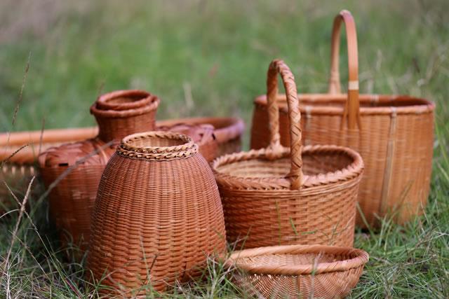 「日本の伝統的竹細工」