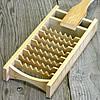 竹製大根おろし(鬼おろし)と鬼おろし竹皿のセット