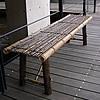 虎竹縁台(折り畳み式)大