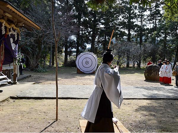 虎竹の里の春祭り
