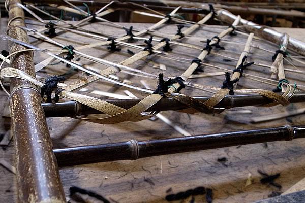 枝折戸を編む