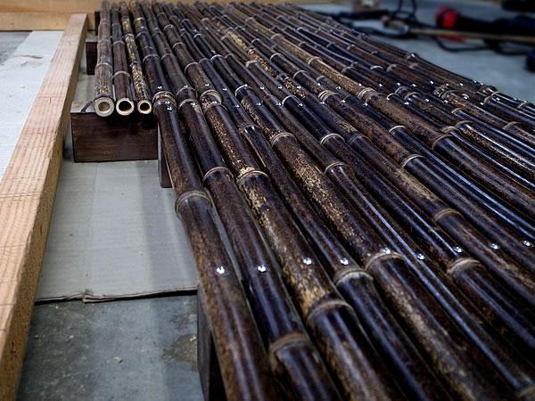竹,編み方,網代網,桝網代編み