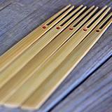 竹菓子楊枝5本セット(赤丸)