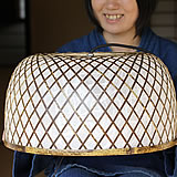 虎竹照明丸傘ライト