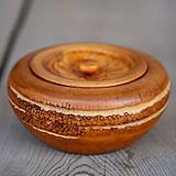 【一点限り】竹根菓子器(蓋付)