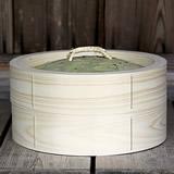 【国産】檜中華蒸籠(せいろ) 30㎝身蓋セット