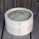 【国産】檜中華蒸籠(せいろ)18㎝身蓋セット