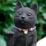 竹炭の招きニャンコ(招き猫)