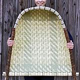 実用的な竹製の箕