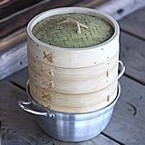 竹蒸篭(せいろ)18センチ2段鍋つきセット