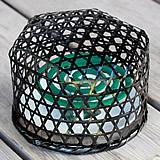 【限定】蚊取り線香籠(陶器皿付き)