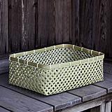 磨き竹衣装籠(小)