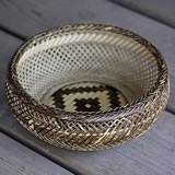 虎竹盛りかご(鉄鉢)