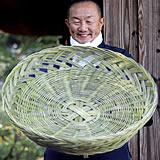 メゴ笹特大皿鉢籠