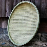 匠の横編み竹ざる65㎝