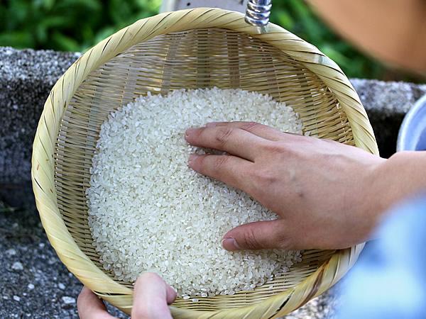 ドキドキ♪初めての米とぎざる体験