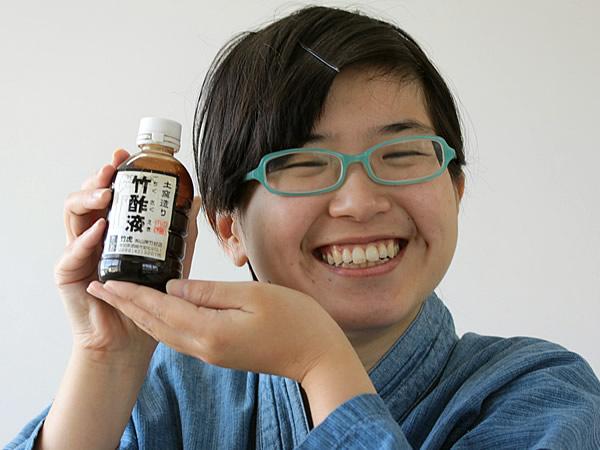 この香り、やっぱり竹酢液!