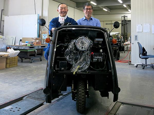 いよいよです。電気自動車Like-T3が納車されます!