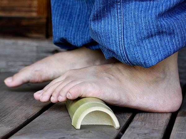 強力青竹踏み踏王くん,足底筋膜炎,足底腱膜炎