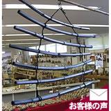 飾り丸竹炭暖簾(のれん)