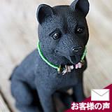 竹炭の柴犬