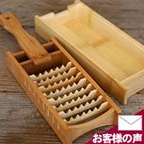 鬼おろしと竹皿のセット