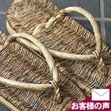 竹皮スリッパ(竹皮鼻緒)